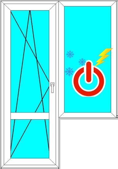 пластиковые окна зимний режим