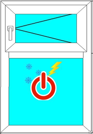 зимний режим окна