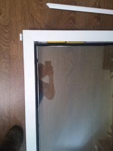 Исправление Геометрии окна двери