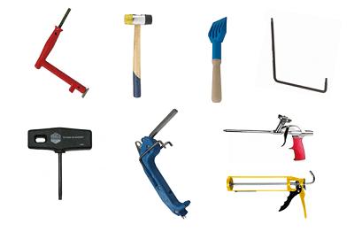 инструменты для окон