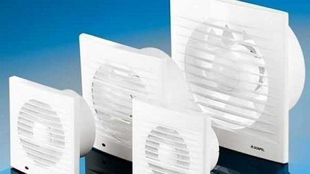 Осевые накладные вентиляторы