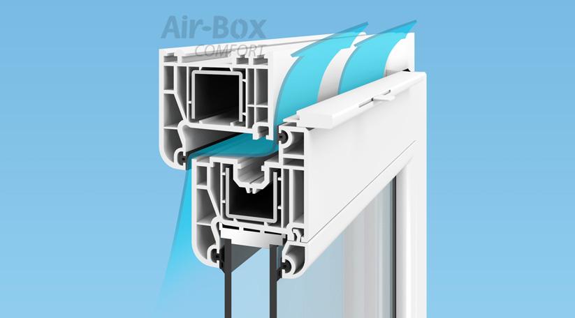 Принцип работы Air-Box Comfort
